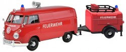 Vw T1 TYPE 2 FIRE TRUCK + TOOLS TRAILER