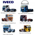 ETR RACE TRUCKS DISPENSER - 12 CAR SET  €7.75 p/s.