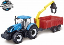 New Holland T7.315 TRACTOR + COMBINANTION TRAILER