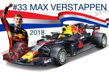 Red BULL RB14 #33 MAX VERSTAPPEN 2018